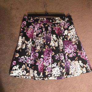 White House Black Market Skirts - Floral mini skirt by WHBM